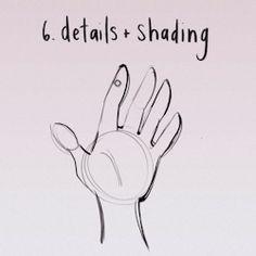 Sketching a hand | Loish blog