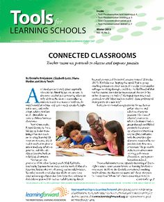 Tools for Learning Schools, Winter 2015 -- Teacher teams use protocols to observe and improve practice.