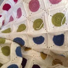 Almost ready! :) #crochet #crochetblanket #blanket #kocyk #handmade #katiayarns by katarzynakeller