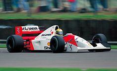 McLaren - Honda MP4/7A 1992  (Ayrton Senna)