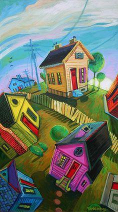 Imaginary Line by New Orleans artist Terrance Osborne