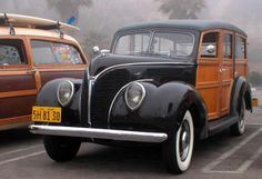 1938 Ford Woodie!...Re-Pin brought to you by #CarInsurance agents at #HouseofInsurance Eugene