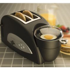Toaster/Egg Maker.  OMG I want this.