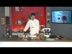 Recettes : Bouchées vapeur et rouleaux de printemps crevettes-Atelier des Chefs et Cuisine Companion - YouTube