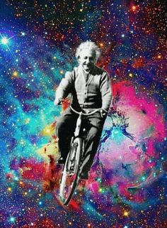 Image result for bicycles space galaxy nebula art