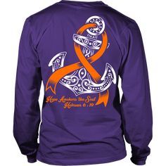 Hope Anchors The Soul - Leukemia