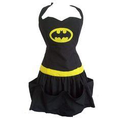 Batman Apron. @cg352 puhlease can i have it... if i dont i might develop a stustustudor
