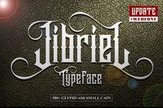 Jibriel Typeface by Mikrojihad Typography on @creativemarket