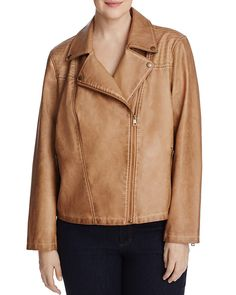 98.00$  Buy here - http://vibir.justgood.pw/vig/item.php?t=q9dddc18581 - Bagatelle Plus Trapunto Quilted Faux Leather Moto Jacket