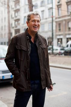 Mario Testino- Classic and Cool. Pic Courtesy of The Sartorialist