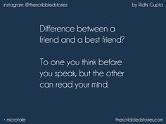 Merii wo jaaneman😘😘meri aadhi baat hoti h or wo smjh jati hai😍😍😍😍bsf❤ Dear Best Friend, Best Friend Quotes, Story Quotes, True Quotes, Besties Quotes, Real Friendship Quotes, Turu, Teenager Quotes, Deep Words
