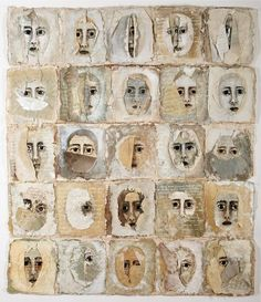 Artist: Arlene Morris Strikingly unique. Handmade paper and other materials.