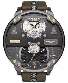 Diesel Mr Daddy DZ7365 Limited Edition - Herreklokker - Denne klokken er designet av det verdenskjente merke Diesel, som har gjort et sterkt inntrykk på moteverdenen med sine klesdesign. Det gjør de også med sine klokkeserier i røff design og god kvalitet.
