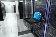 creative business web telecommunication internet technology connection cloud computing and networking connectivity concept: terminal monitor in server room with server racks in datacenter interior Virtual Private Server, Server Room, Site Hosting, Ecommerce Solutions, Ecommerce Platforms, Hosting Company, Cloud Computing, Best Web, Seo