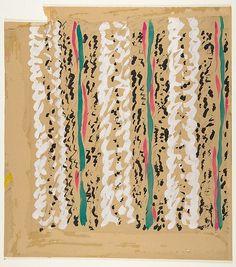 * Textile Design 20th century Marcel Vertès (1895–1961)