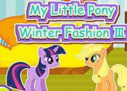 My Little Pony Moda de Invierno 3