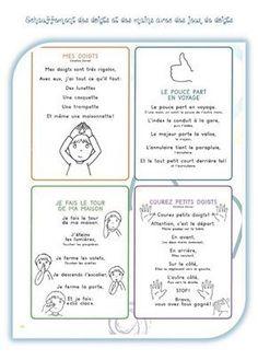 Gym des doigts avant de commencer une activité d'écriture