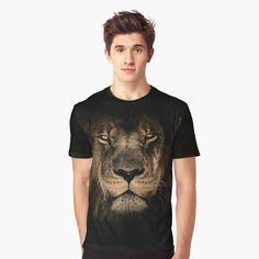 My T Shirt, V Neck T Shirt, Shirt Men, Vivid Colors, Chiffon Tops, Female Models, Classic T Shirts, Lion, Shirt Designs