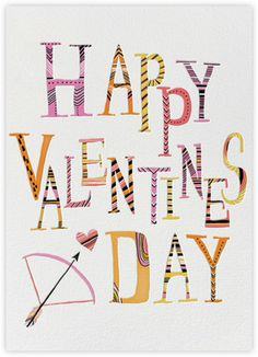 Valentine Arrow (Carrie Gifford) - Paperless Post