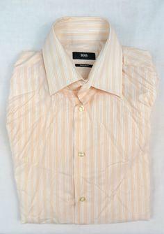 827101313 HUGO BOSS MENS REGULAR FIT SHIRT Size 39 / 15 #fashion #clothing #shoes  #accessories #mensclothing #shirts (ebay link)