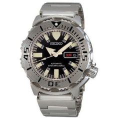 "Seiko ""Black Monster"" automatic dive watch"