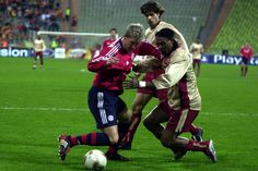 Bastian Schweinsteiger's debut for Bayern München in a Champions League group stage game against RC Lens in the 2002/03 season. #miasanmia #fcbayern #bayern #schweinsteiger #ucl #championsleague