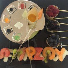Fruit artistic palette