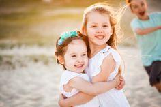 Loving Sisters - Gold Coast Beach