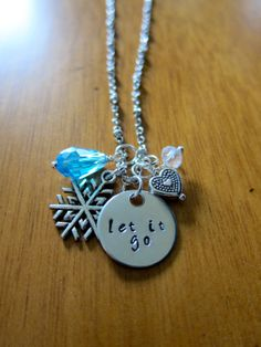 Disney's Frozen Inspired Elsa Let It Go Necklace by WithLoveFromOC, $20.00
