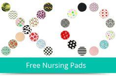 Ten Free Sets of Nursing Pads–Just Pay to Ship!