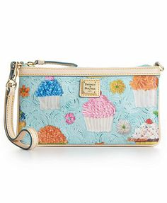 Dooney & Bourke Handbag, Large Cupcake Wristlet