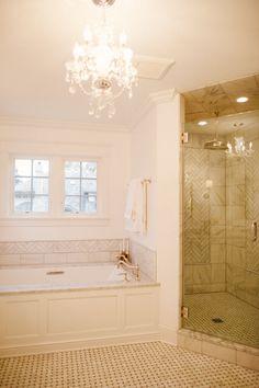 Fancy bathroom tile