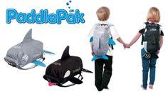 Introducing the shark & killer whale PaddlePak! #family #swimming #familyholidays
