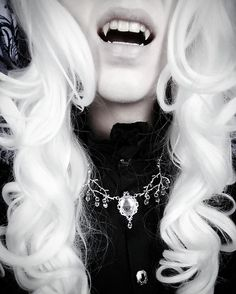 "2,803 Likes, 46 Comments - Valentin van Porcelaine ♥ (@valentin_winter) on Instagram: """"Evildoers are easier. And they taste better."" ~ Lestat 'Icithril' necklace by @thepumpkincoven…"""
