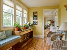 DIY Network fans voted for tiger strand bamboo flooring.