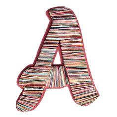 Yarn Wrapped Letter A
