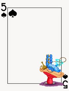Journal Card - Caterpillar - Alice in Wonderland - Playing Card - Photo: A little journal card to brighten up your holiday scrapbook! Caterpillar Alice In Wonderland, Alice In Wonderland Tea Party, Diy Alice In Wonderland Crafts, Alice In Wonderland Printables, Alice In Wonderland Clipart, Alice Tea Party, Festa Party, Mad Hatter Tea, Disney Scrapbook