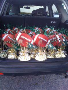 Sports Banquet Centerpieces | sports+banquet+decorations | Football Banquet Centerpieces | Parties