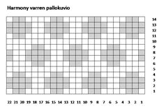Harmony polvisukat, lankana 7 veljestä, värit  011 ja  060. Knit Socks, Knitting Socks, Mittens, Charts, Knit Crochet, Tricot, Fingerless Mitts, Graphics, Fingerless Mittens