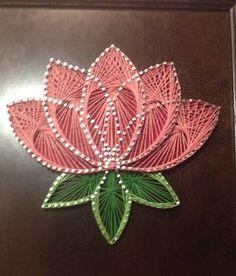 """Résultat de recherche d'images pour """"string art lotus"""""""