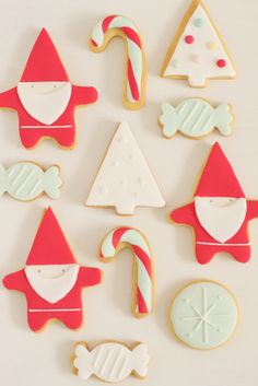 Christmas cookies by hello Naomi