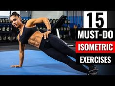 **Take your CORE training to the next level with these 15 MUST-DO Core Exercises performed by Olympia IFBB Pro Marcia Goncalves. If you want to radically . Effective Ab Workouts, Lower Ab Workouts, At Home Workouts, Isometric Exercises, Core Exercises, Stomach Exercises, Workout Bauch, Ab Workout Men, Biceps Workout