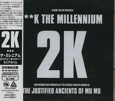 """For Sale - KLF ***K The Millenium + Obi-strip & Stickers Japan  CD single (CD5 / 5"""") - See this and 250,000 other rare & vintage vinyl records, singles, LPs & CDs at http://eil.com"""