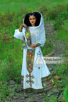 Ethiopian Traditional Dress, African Traditional Dresses, Punk Fashion, Lolita Fashion, Womens Fashion, Emo Dresses, Fashion Dresses, Party Dresses, Ethiopian Wedding