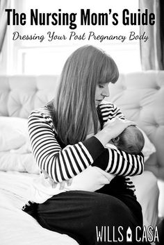 Nursing Moms Guide to Dressing Your Post Pregnancy Body for Breastfeeding Ease by Wills Casa, via Flickr