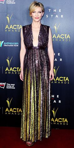 Cate Blanchett in Givenchy at the 2014 AACTA Awards