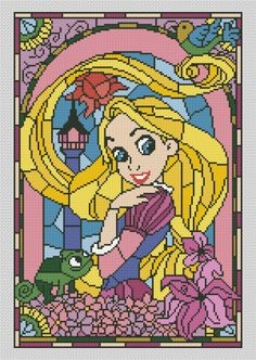 Cross stitch pattern by Avrora CS #crossstitch #xstitch #xstitching #crossstitchpattern #xstitchpattern #disney #disneycrossstitch #disneyxstitch