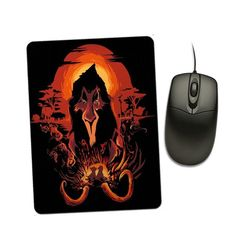 The King is Dead - Mousepad