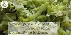 Karczma Honorietty - czyli jadło jak TRZA!: Porówka, czyli surówka z pora