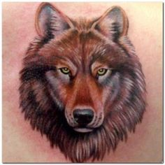 Wolf Tattoos; A Symbol Of The Night